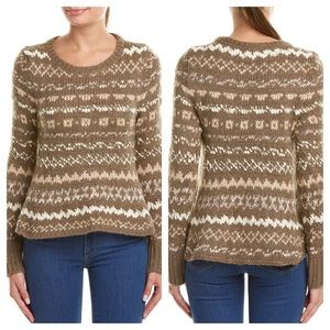 Free People Thru The Storm Pullover Sweater Taupe
